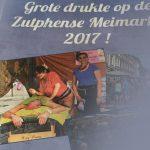 grote drukte op de meimarkt in Zutphen
