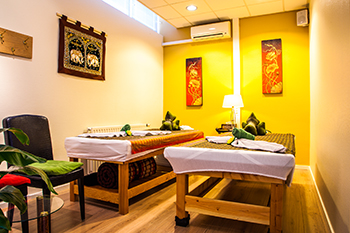 massageruimte voor duo massage